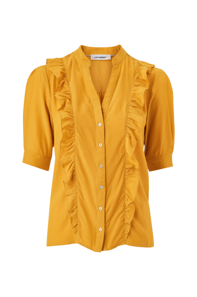 co'couture Bluse Essential Frill Shirt