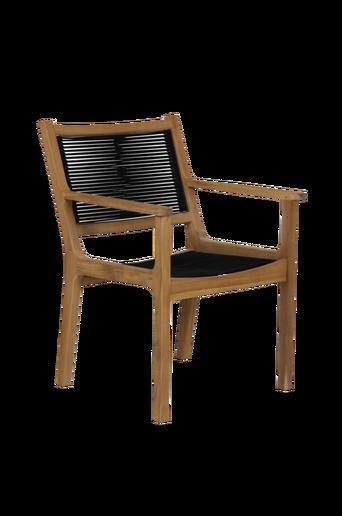Käsinojallinen tuoli Agios, 2/pakk.