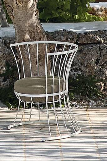 Nojatuoli Clessidra, sisältää pehmusteen