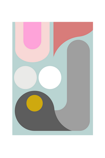 Juliste Abstraction 3