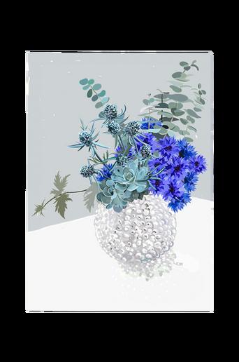Juliste Blue Bouquet