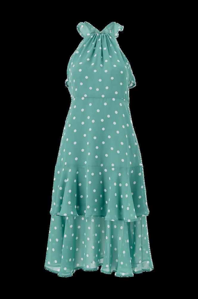 Vila Kjole viYrsa Dot S/L Midi Dress