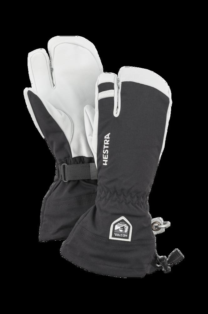 Hestra Skihandsker Army Leather Heli Ski 3-finger