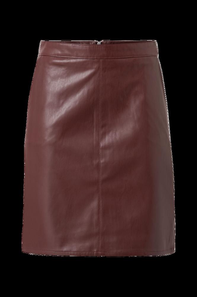 Soaked in Luxury Nederdel SL Tamara PU Skirt