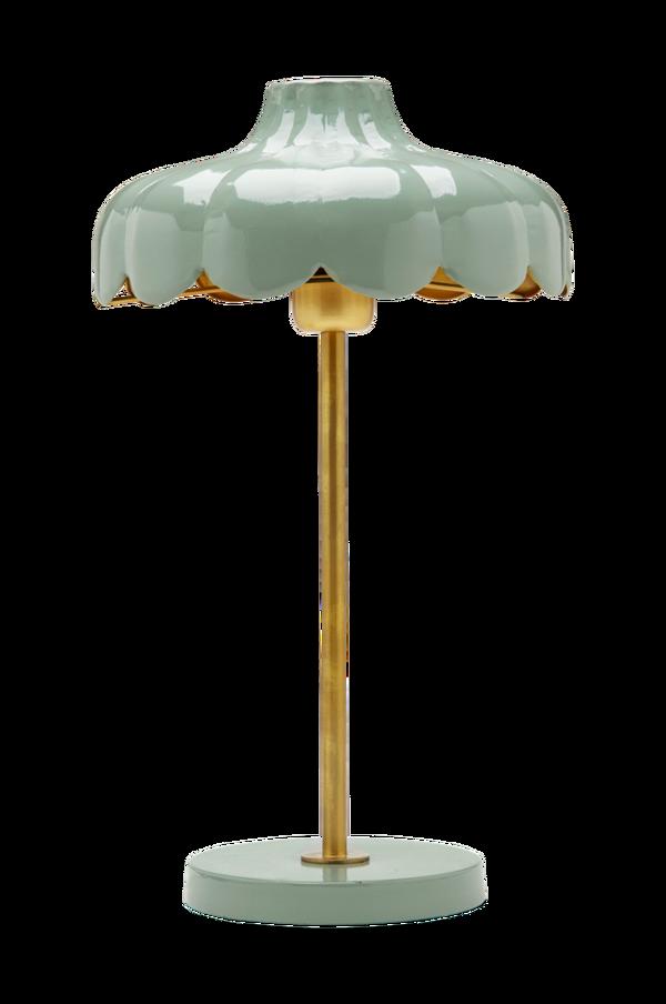 Bilde av Bordlampe Wells, 50 cm - Grønn/gull