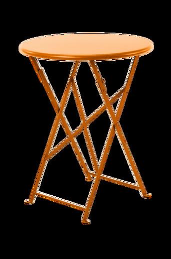 Kokoontaitettava pöytä Flower, halkaisija 60 cm