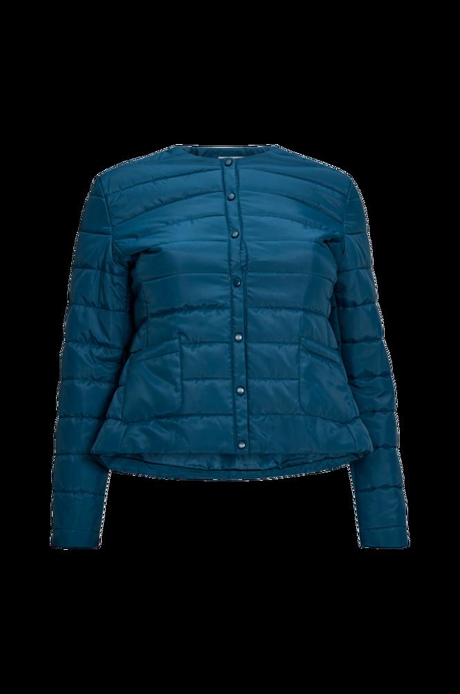 La Redoute Let, quiltet jakke med trykknapper