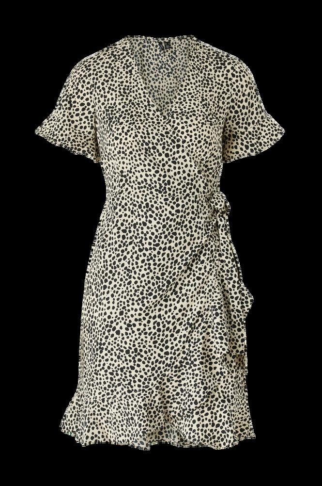 Vero Moda Slå om-kjole vmHenna 2/4 Wrap Frill Dress