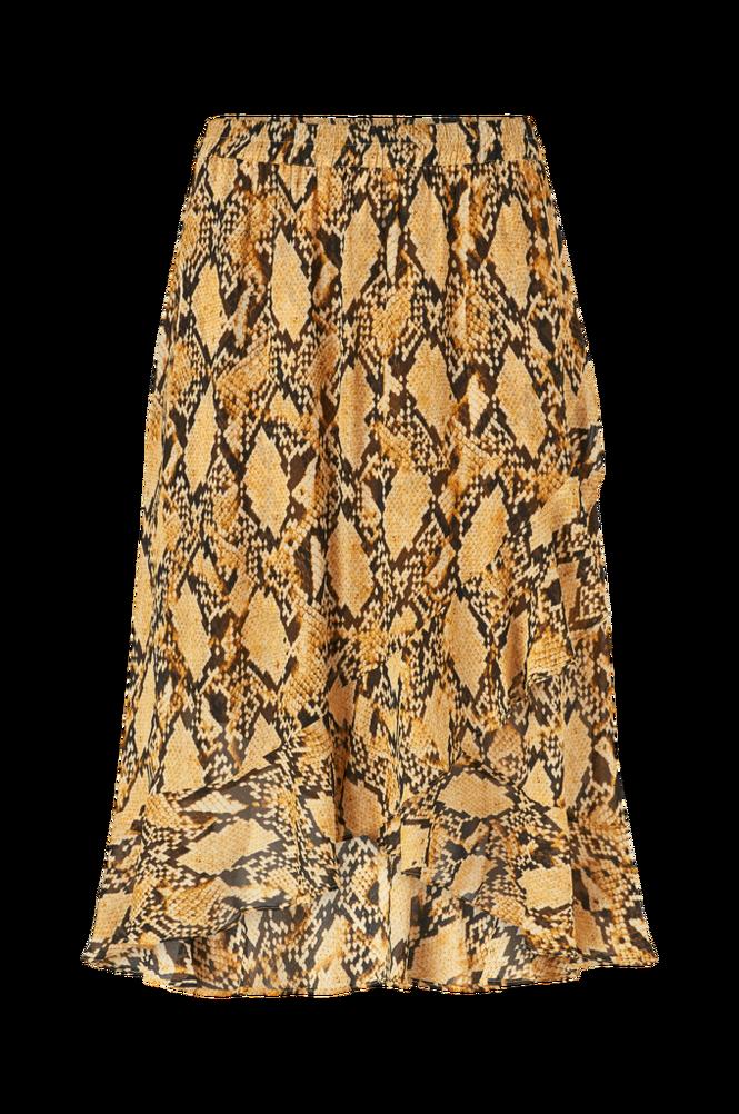 Second Female Flæsenederdel Snake Midi Skirt