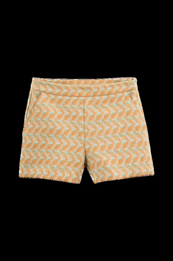 La Redoute Jacquardmønstret shorts med skrålommer