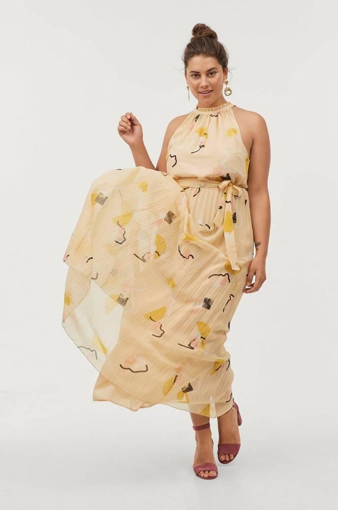 Soaked in Luxury Maxikjole SX Siv Prisilla Maxi Dress