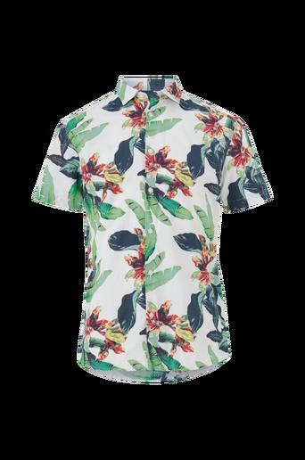 Kauluspaita slhSlimasher Shirt SS aop B