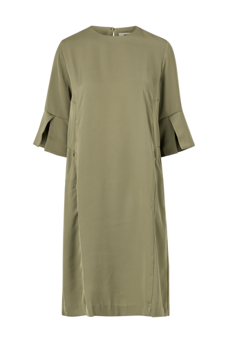 Moina Long Solid Dress Cherrie Whyred Campadre.se