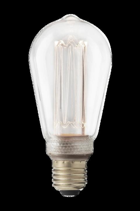 Edisonlampa Future LED 3000K, 64 mm