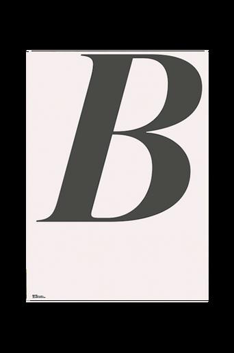 Juliste B-ABC 70x100 cm