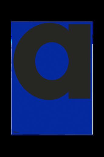 Juliste a-ABC 70x100 cm