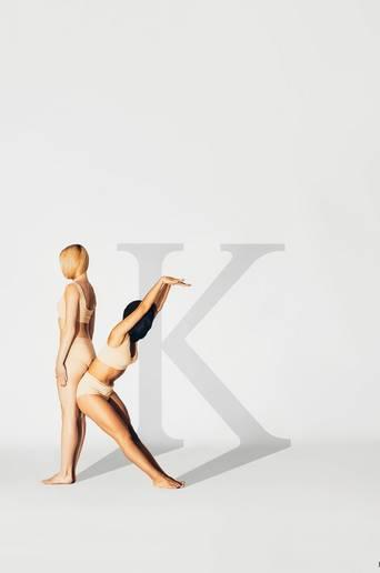 Juliste K for KIND 70x100 cm