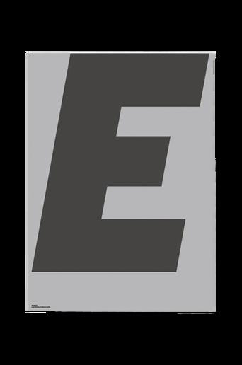 Juliste E-grey 70x100 cm
