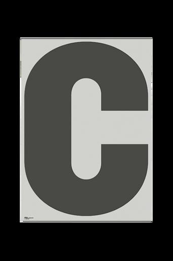 Juliste C-ABC 70x100 cm
