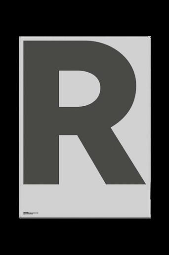 Juliste R-Grey 70x100 cm