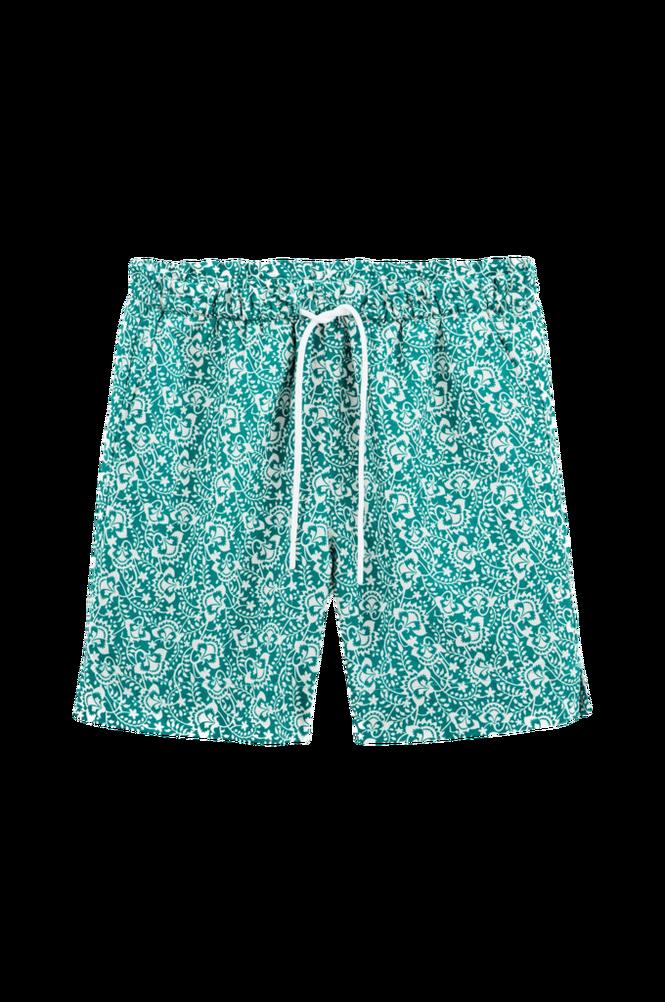 La Redoute Mønstrede shorts i hørblanding