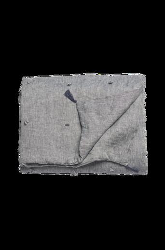 Tikattu peitto pellavaa - Chambray