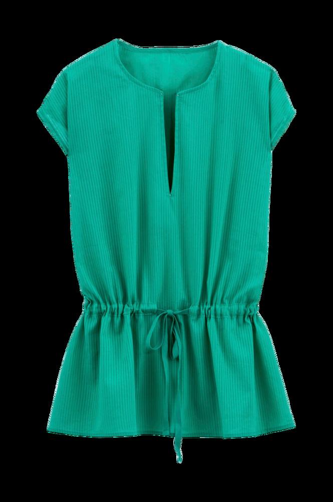 La Redoute Bluse med slids i halsudskæringen og løbegang i taljen