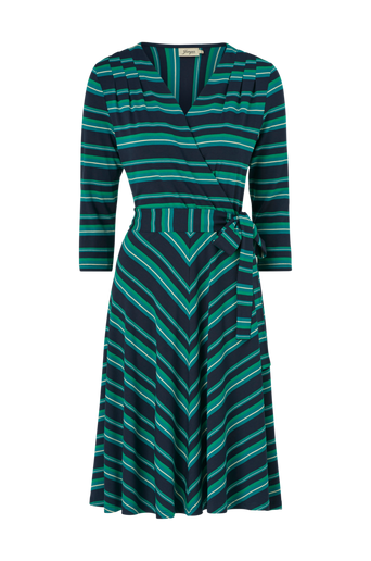 Mekko Celia Multistripe Jersey dress