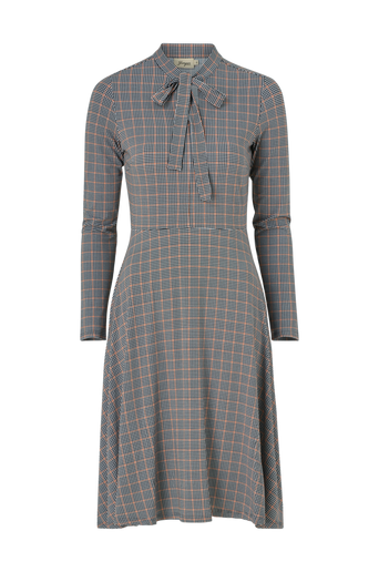 Mekko Elvy Check Jersey Dress