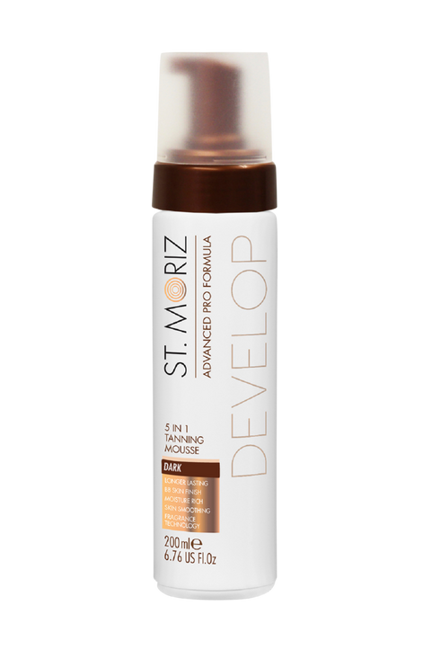 Adv 5in1 Tanning Mousse Dark 200ml