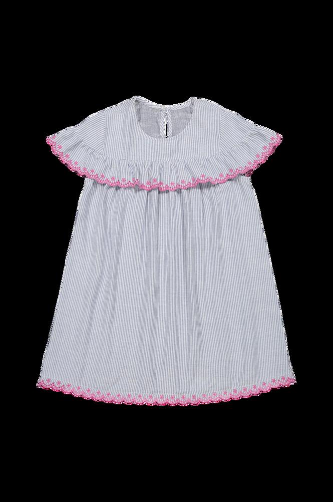 La Redoute Stribet kjole med broderie anglaise