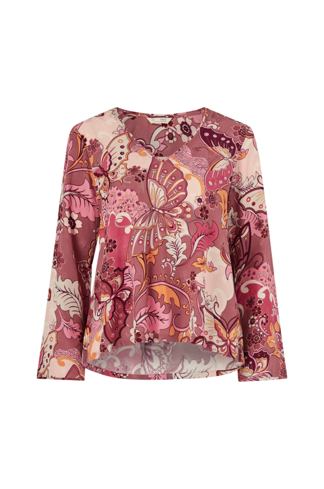 Odd Molly Bukser Puzzle Me Together Blouse