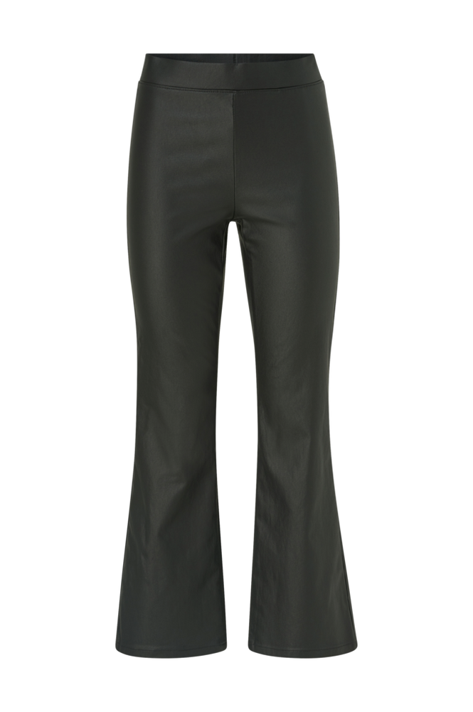 Vila Bukser viCommit Coated HWSL Cropped Pant
