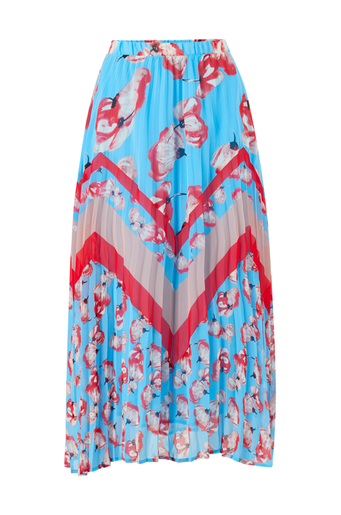 Y.A.S Nederdel Vamilla Pleated Skirt