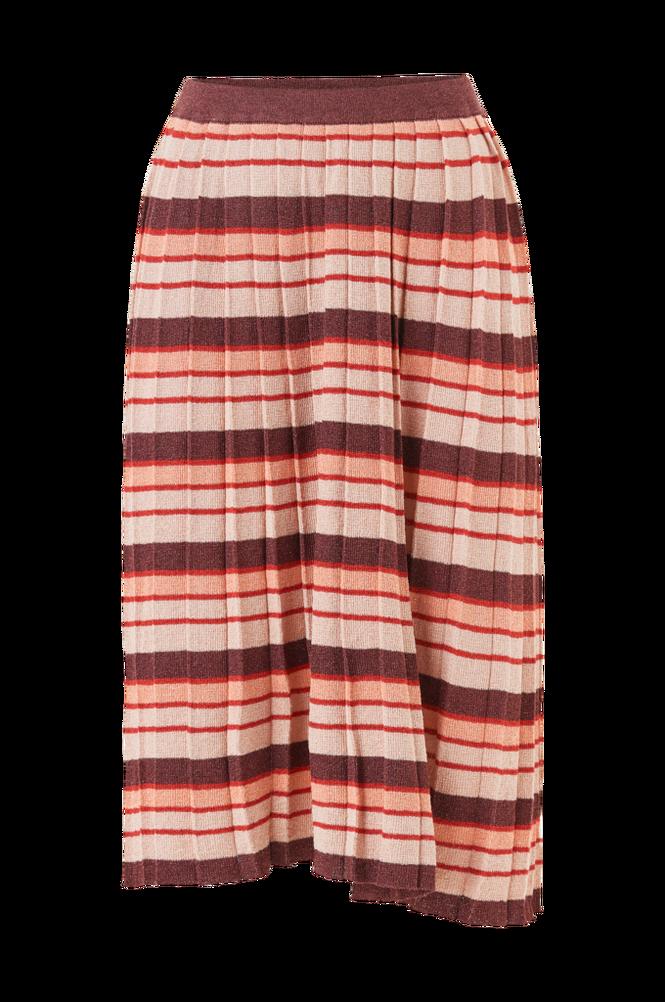 Vila Nederdel viRibba Knit Stripe Midi Skirt