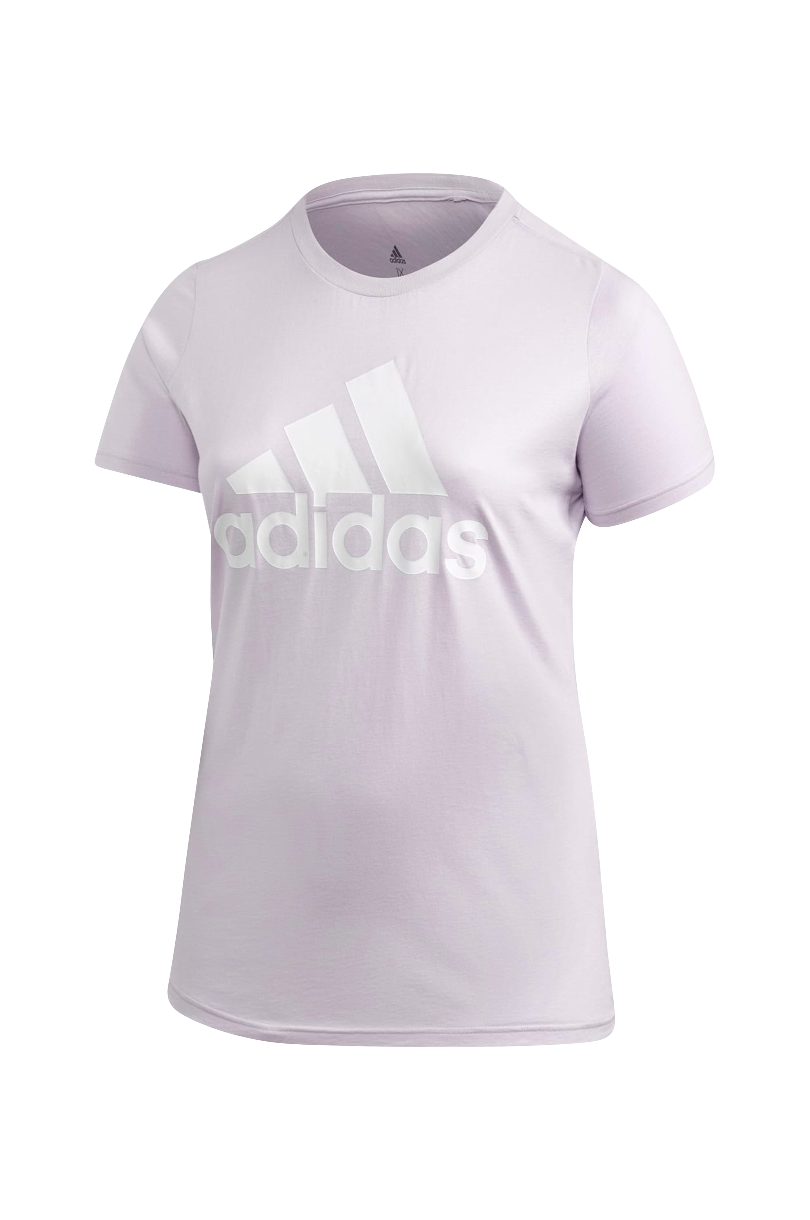 adidas Sport Performance Top Badge Of Sport Tee Plus - Lilla - Toppe