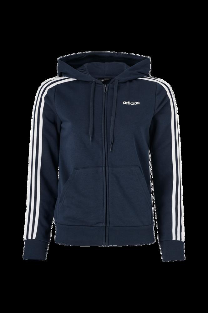 adidas Sport Performance Hættetrøje Essentials 3-Stripes Full-zip Hoodie