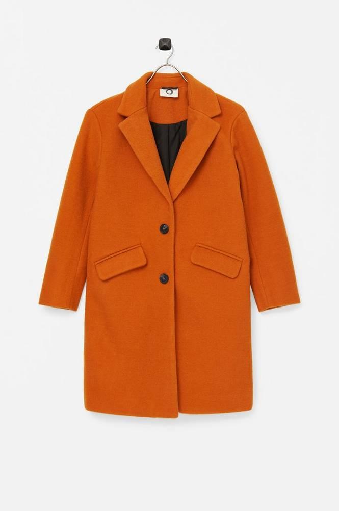 I dig denim Frakke Bibbi Wool Coat