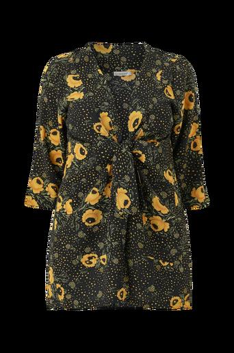 Kimono kreppimateriaalia