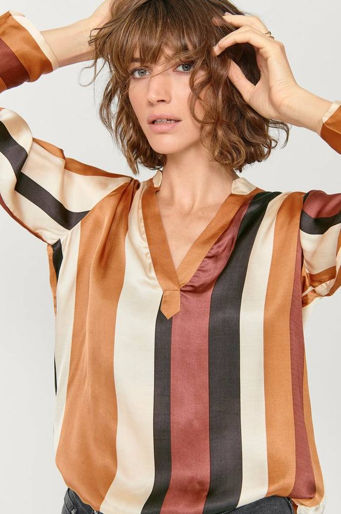 Second Female Bluse Fast LS Blouse