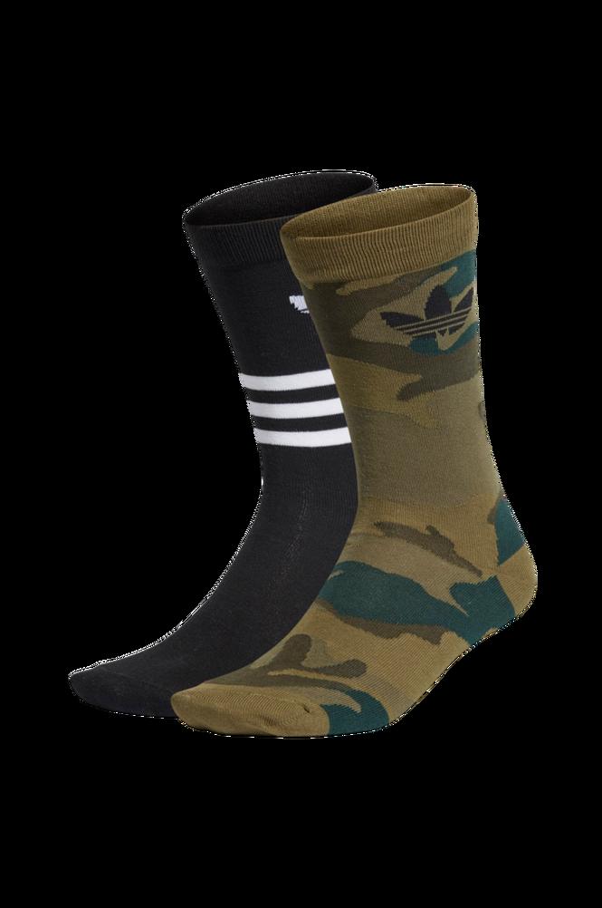 adidas Originals Strømper Trefoil Mid-cut Crew Socks 2-pak