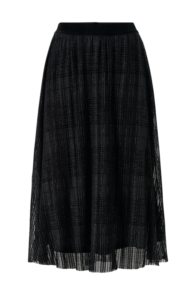 Y.A.S Nederdel Kelly HW Midi Skirt