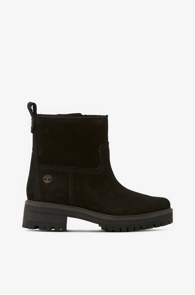 Se Timberland Boots Courmayeur Valley Faux Fur Bootie ved Ellos