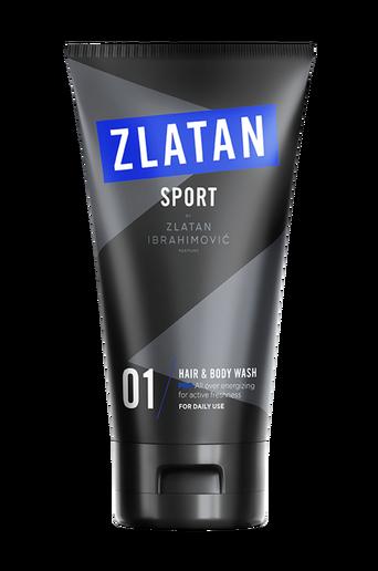 Zlatan Sport Pro Hair & Body wash 150 ml