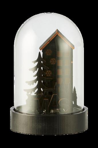 LED-valaisin Nordic, kellonmuotoinen