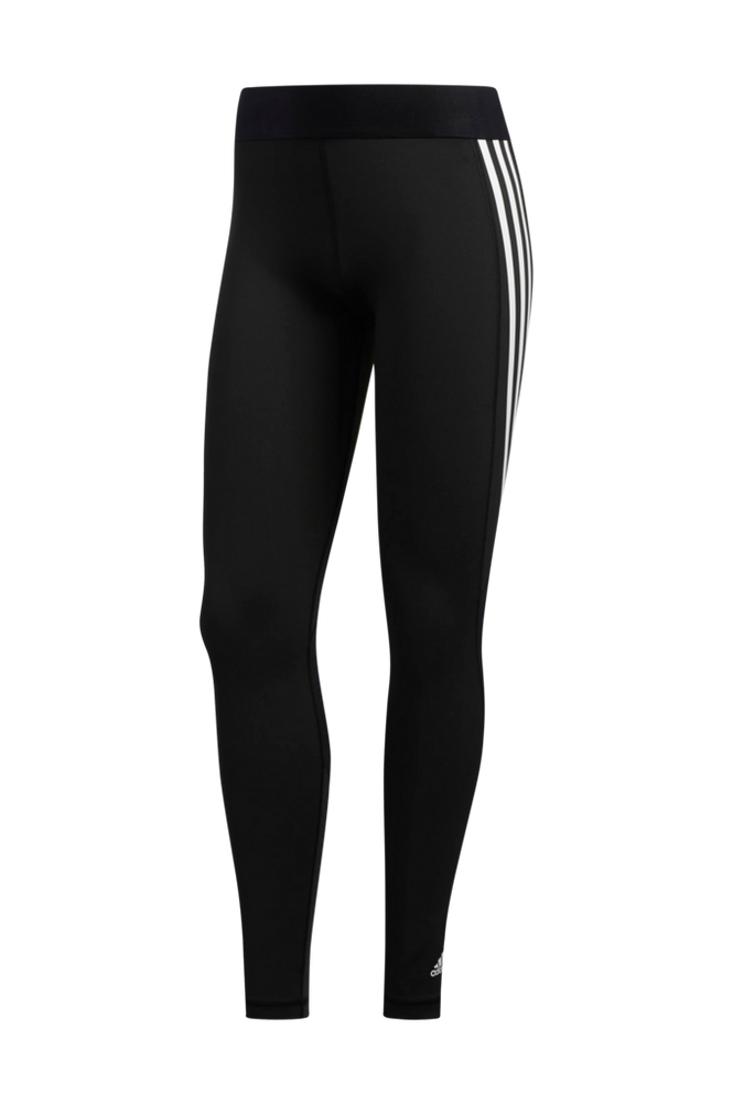 adidas Sport Performance Træningstights Alphaskin 3-Stripes Long Tights