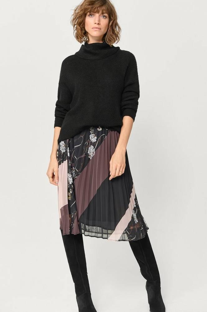 Saint Tropez Nederdel Plisse Skirt