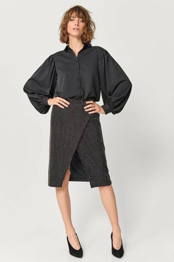 Saint Tropez Slå om-nederdel Jersey Skirt