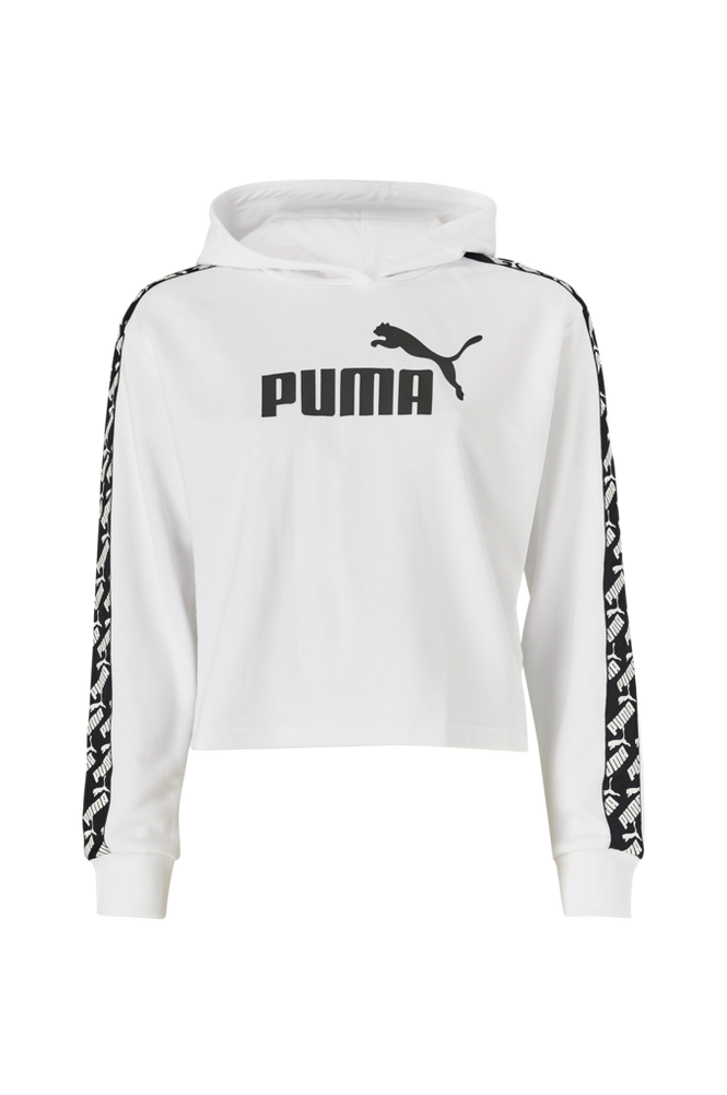 Puma Hættetrøje Amplified Cropped Hoody TR