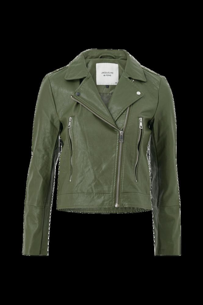 Jacqueline de Yong Bikerjakke jdyIlde Short Faux Leather Jacket